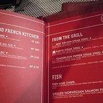 Broad menu with western type options