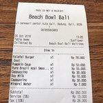 Foto de Beach Bowl Bali