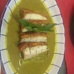 Crispy Roasted Pork in heavy Sweet Green Curry is a must whenever we visit. Yummy yummy. Make re