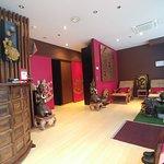 Inside the Lotus spa