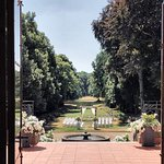 Aussicht zum Schlosspark