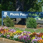 Picnic Point at Carnival time