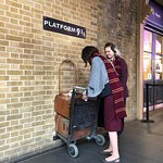 Zdjęcie Harry Potter Shop at Platform 9 3/4