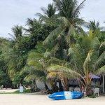 银色海滩照片