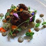 Vegan Lunch - Jerusalem Artichoke / Shimiji / Pain d'Epices