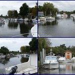 Le port et les bateaux