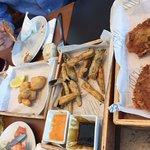 Fritura,tortillitas y croquetas
