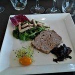 11 Véritable terrine de campagne et son mesclin au foie gras