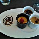 18 Petits pots de crème façon grand_mère vanille, café et chocolat