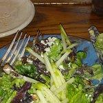 Apple Walnut Green Salad