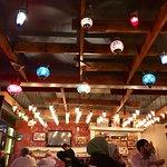 Ambience at Ozi Pizza