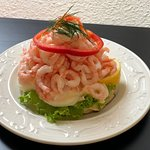 Swedish classic prawn sandwich, king-size! :)