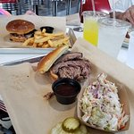 Texas Brisket Sandwiches with Sides