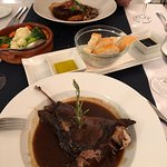 Slow roasted lamb - heaven!