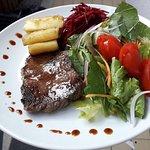 Combo salada simples + Proteina + carboidrato