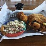 fish and shrimp