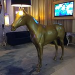 This horse lamp made me happy.