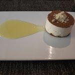 White Chocolate Tiramisu.