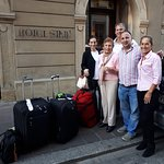 transfer from Warsaw to Krakow with Christine and her family