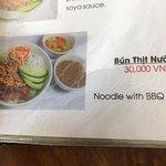 menu item. delicious.