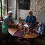 """A la table du""""Four Saint Louis"""", où l'on a passé un agréable moment"""