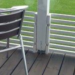大野ファームCOWCOW VILLAGE⑧ テラス席の柵①