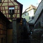 wassermühle im burggraben....