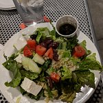 This was the Greek salad -- recommended for sure!
