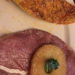 Smithfield ham and stuffed squash
