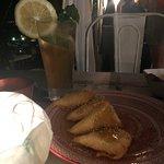 Samosa with Cheese and honey