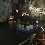 the boats at the Grotto