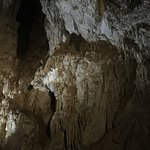 stalactites in the emerald grotto