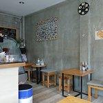 Cosy dining interiors.