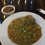 Crawfish Étouffée and red beans & rice