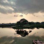 Sunrise on Chetpet Lake