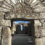 Ancient church at Glendalough.