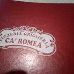 Foto de Ca' Romea Ristorante Pizzeria