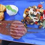 Steak at the Restaurant Horizont in Split