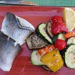 Seabass at Rstaurant Horizont in Split