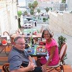Lovely setting at the Restaurant Horizont in Split