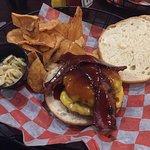 Bourbon BBQ Bacon Cheese Burger