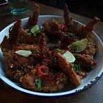 jerk chicken wings!