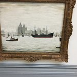 Lowry painting of the Mersey