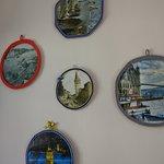 Una de las paredes ,Fotos muy lindas de la costa del Bosforo