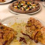 Light and crispy crust! Delish!