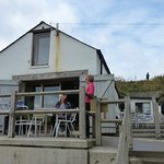 Boat Shed Cafe, front aspect and terrace