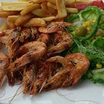 Grilled prawns. Give me more! :)