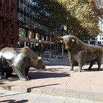 Börse Frankfurt fényképe