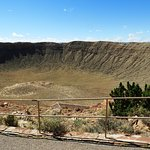 The scale of this meteor crater is amazing - and the history is very interesting!!