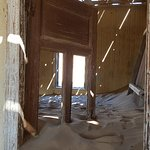 Sand inside the houses